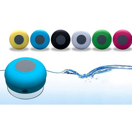 Bluetooth Portable Shower Speaker and Hands-Free Speakerphone