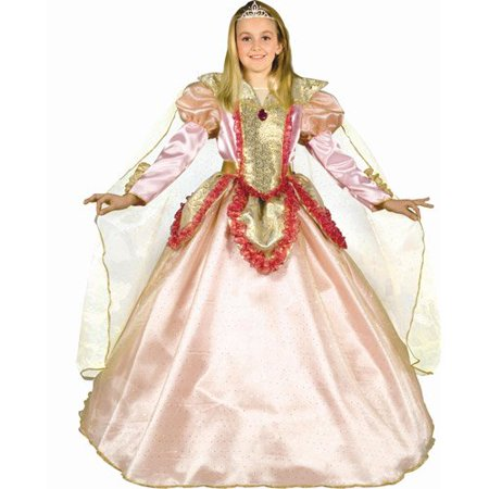 Dress Up America 538-L Princess of the Castle - Size - Danny Castle Halloween
