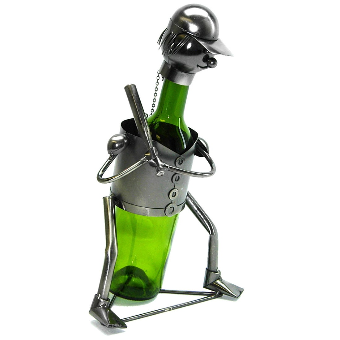 3starimex Wine Bottle Holder Baseball Wine Caddy