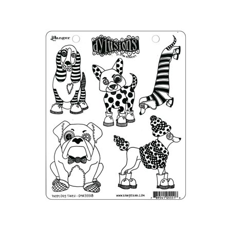 Ranger Dylusions Stamp Puppy Dog Tales