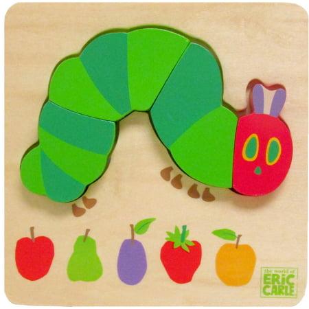 Eric Carle 4-Piece Puzzle, Caterpillar](Eric Carle Caterpillar)