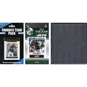 C&I Collectibles NFL New York Jets Licensed 2014 Score Team Set and Favorite Player Trading Card Pack Plus Storage Album O/S