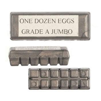 Dollhouse Egg Carton/Gray