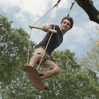 Bliss Hammocks Wooden Skateboard Swing
