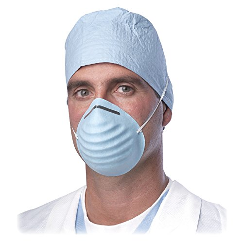 Surgical - Walmart Blue com Mask Face Cone-style