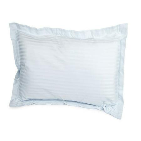 Cotton Stripes Pillow Sham (Superior 650 Thread Count Egyptian Cotton Stripe Pillow Sham)