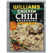 Williams No Salt Added Chicken Chili Seasoning, 1.125 oz (Pack of 24)