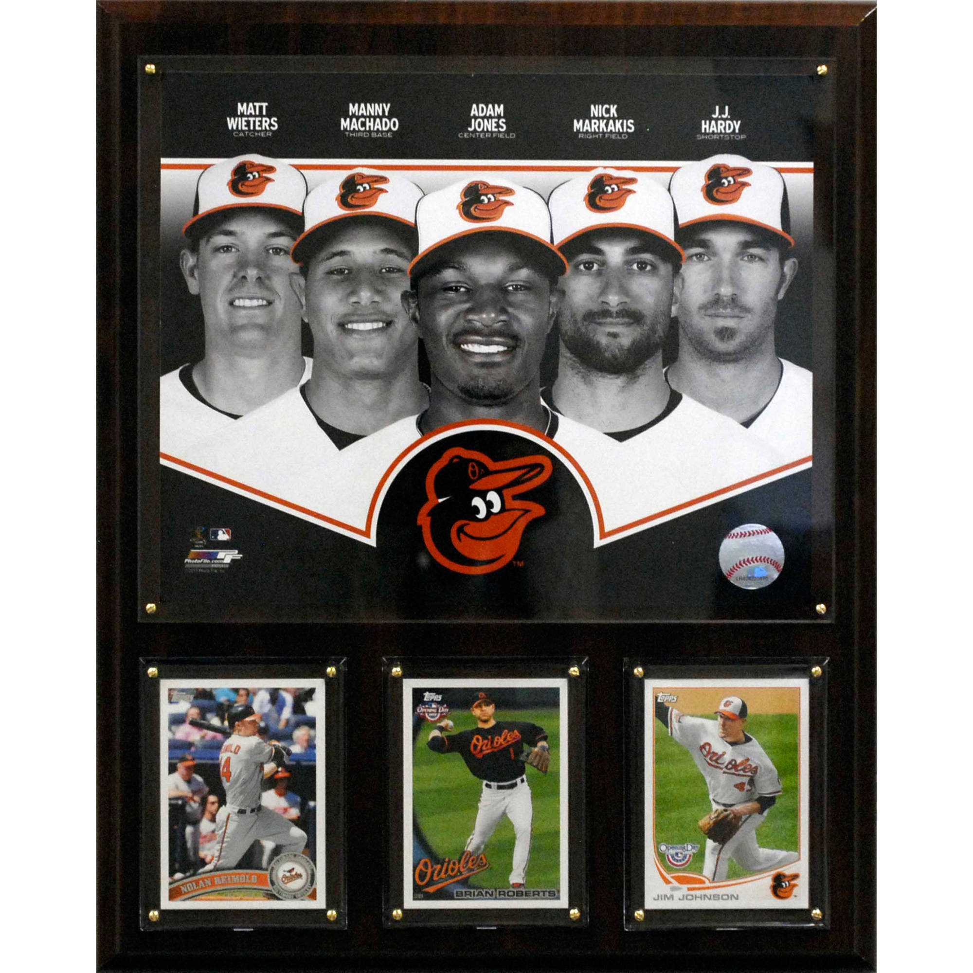 C&I Collectables MLB Baltimore Orioles 2013 Team Plaque