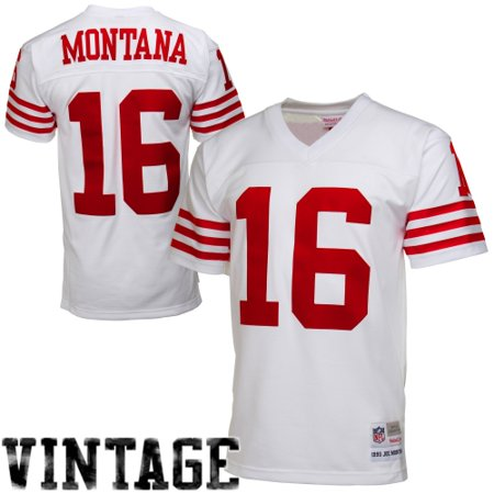 online store 89e1c bd82c Joe Montana San Francisco 49ers Mitchell & Ness Retired Player Vintage  Replica Jersey - White