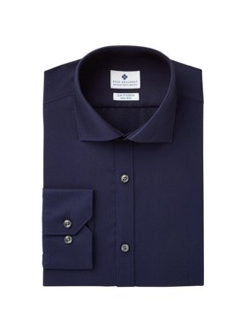 Ryan Seacrest Mens No-iron Button Up Dress Shirt
