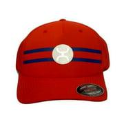 HOOey Hat Mens Baseball Flexfit Cap Perf Reflective Logo 1628