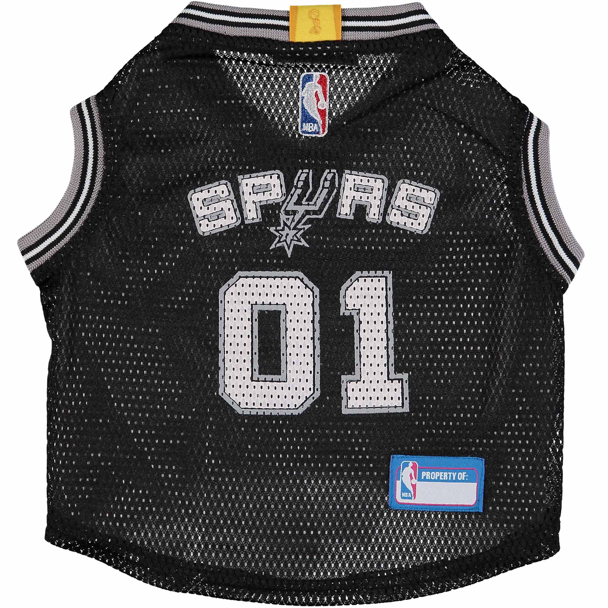 San Antonio Spurs Mesh Basketball Dog Jersey