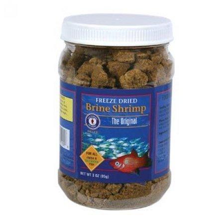 Freeze Fresh Shrimp - San Francisco Bay Brand ASF71109 Freeze Dried Brine Shrimp for Fresh and Saltwater Fish, 20gm