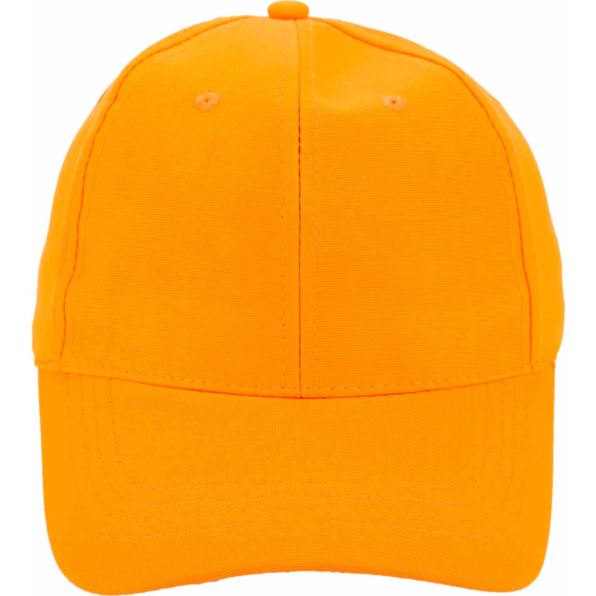 Blaze Orange Hunting Cap - Walmart.com 8df0d60f533