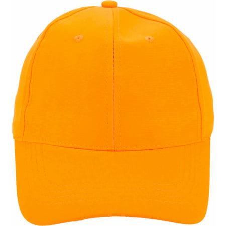 Blaze Orange Cap (Blaze Orange Hunting Cap)