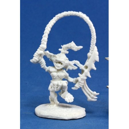 Reaper Miniatures Pathfinder Goblin Warchanter #89004 Bones D RPG Mini Figure