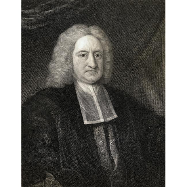 Posterazzi DPI1858534 Edmond Halley, 1656-1742 English Astronomer & Mathematician From The Book -Gallery of Portraits Published London 1833 Poster Print, 13 x 17 - image 1 de 1