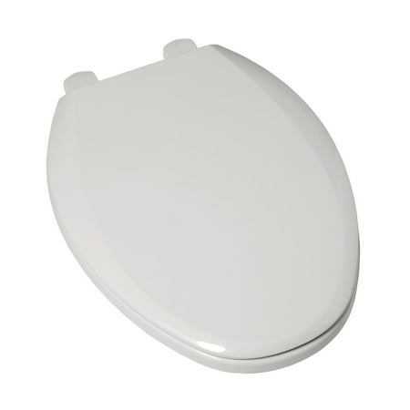 Marvelous American Standard 5257A 65D 020 Plastic Elongated Toilet Seat White Ibusinesslaw Wood Chair Design Ideas Ibusinesslaworg