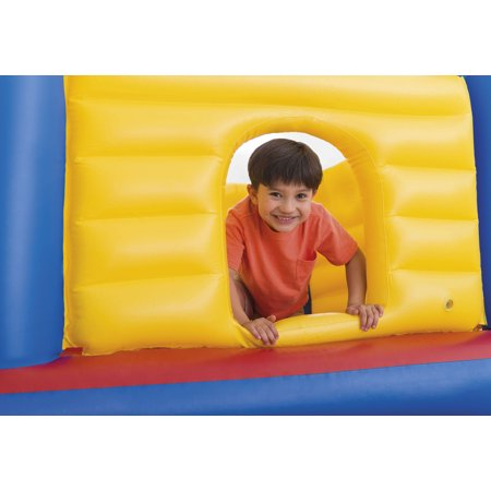 Intex Inflatable Colorful Jump-O-Lene Kids Castle Bouncer for Ages 3-6 | 48259EP - image 2 of 7