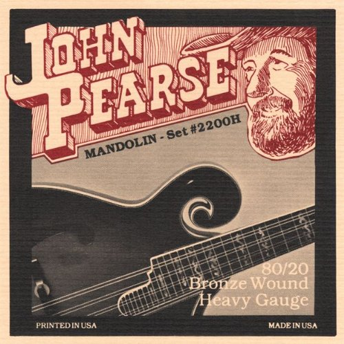 John Pearse Mandolin String Set- Heavy by