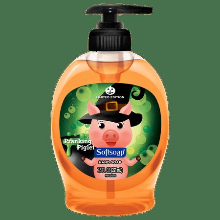 Softsoap Ss Lhs Halloween Pumpkin 7.5