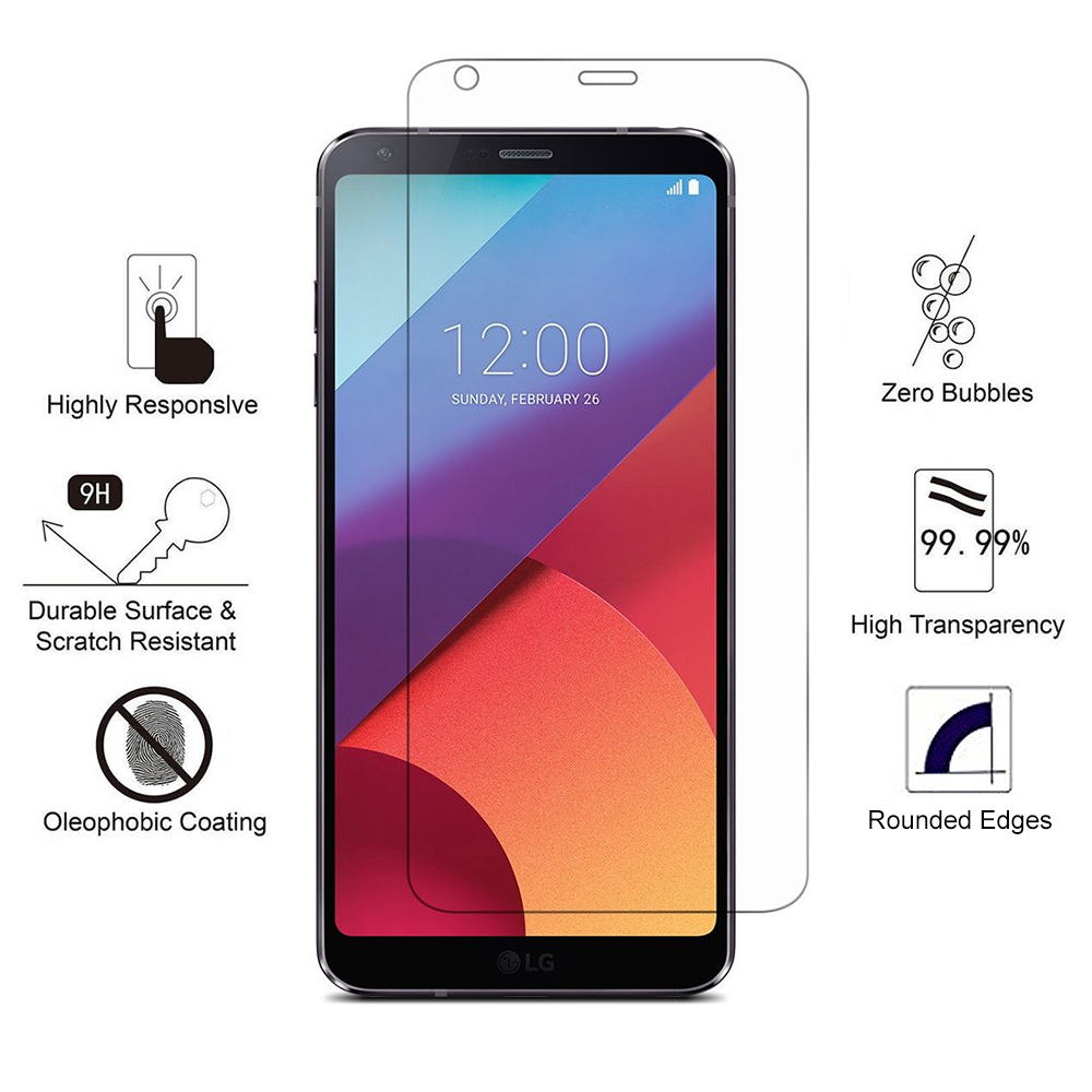 Arc® LG G6 Tempered Glass Screen Protector