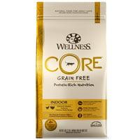 Wellness CORE Natural Grain Free Dry Cat Food, Indoor Chicken & Turkey Recipe, 5-Pound Bag