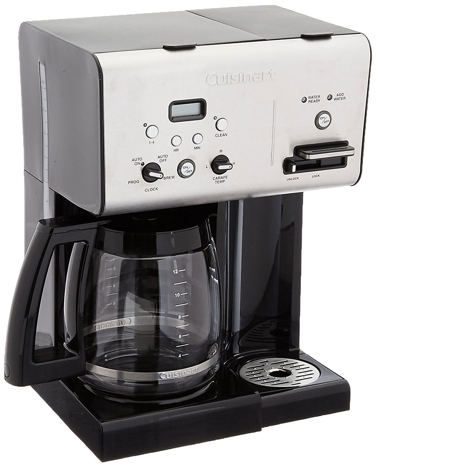 Cuisinart Coffee Plus 12 Cup Programmable Coffeemaker (Certified Refurbished)