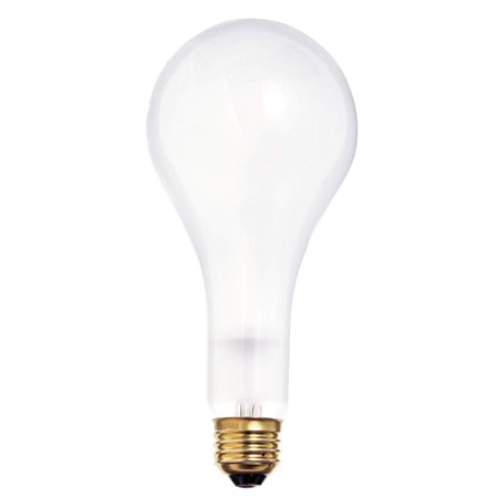 S1826 120-Volt 100/200/300 PS25 3 Contact Mogul Base Light Bulb, Frosted, 2000 Average rated hours By Satco 120 Volt Mogul Base Bulb
