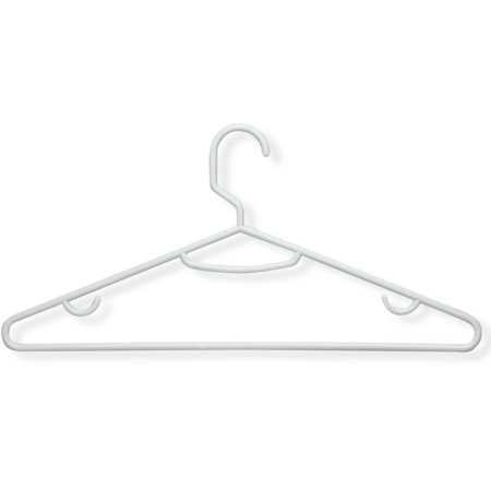Honey Can Do Recycled Plastic Hangers, Multicolor (Pack of 60) ()