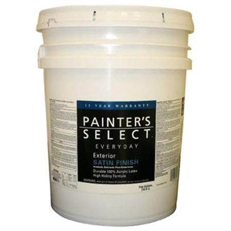 True value mfg company jes9 5g painters select everyday 5 for Exterior paint satin 5 gal