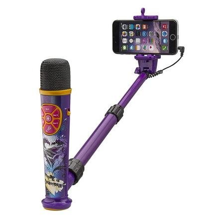 eKids Descendants 2 Selfie Star Studio - App Enhanced Selfie Stick - Video Recording (Best App For Recording Phone Conversations)