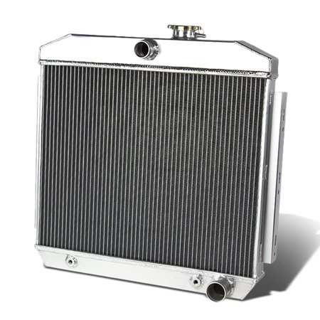 For 55-57 Chevy Small Block V8 3-Row Full Aluminum Racing Radiator