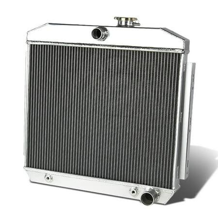 For 55-57 Chevy Small Block V8 3-Row Full Aluminum Racing Radiator 56