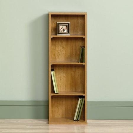 sauder beginnings multimedia storage tower highland oak. Black Bedroom Furniture Sets. Home Design Ideas