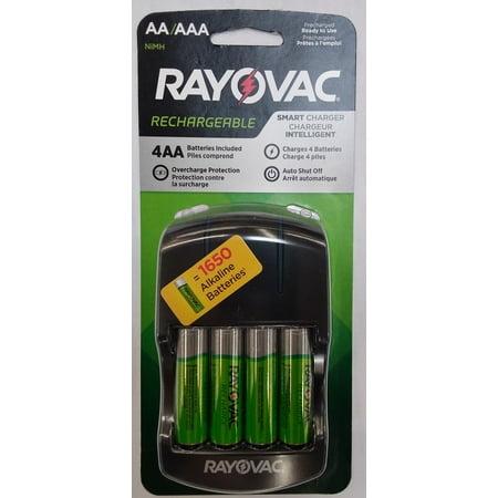 Rayovac Rov Rech Plus 4-pos Charg