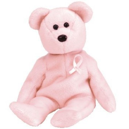 ty beanie babies - cure breast cancer awareness (The 31 Day Home Cancer Cure Ty Bollinger)