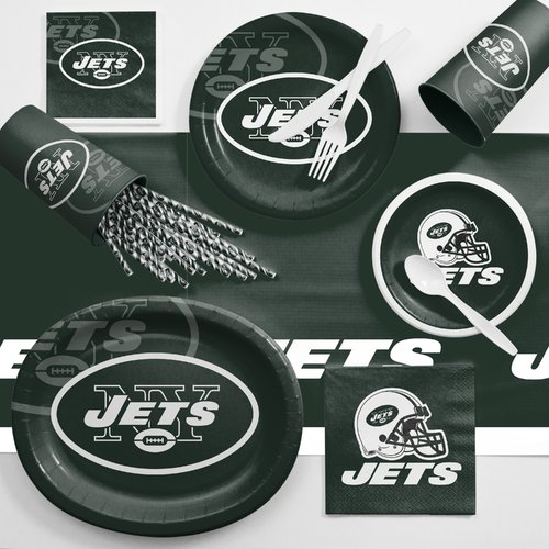 New York Jets Ultimate Fan Party Supplies Kit