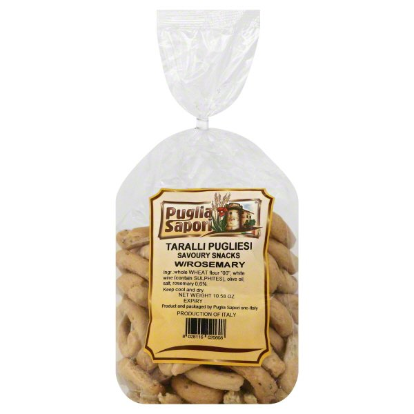 Puglia Sapori Puglia Sapori Taralli Pugliesi 10 58 Oz Walmart Com Walmart Com