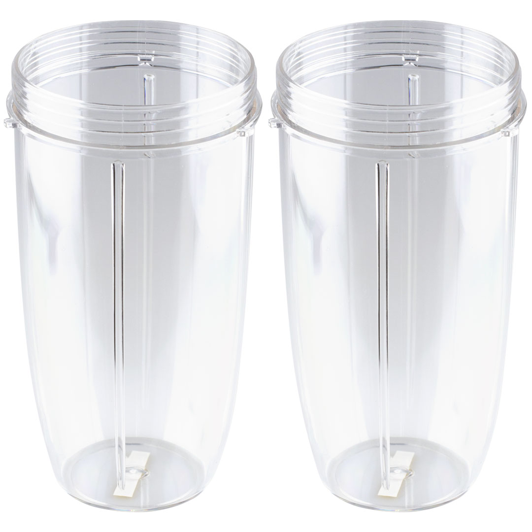2 Pack 32 oz Colossal Cups Replacement for Nutribullet NB-101 by Felji