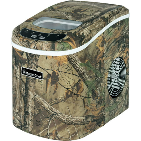 Magic Chef 27-Lb. Portable Countertop Ice Maker with Authentic Realtree Xtra Camouflage Pattern (Igloo Portable Ice Maker)