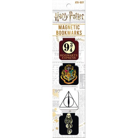 Harry Potter Symbols Magnetic Folded Bookmarks Set Of 4 ()