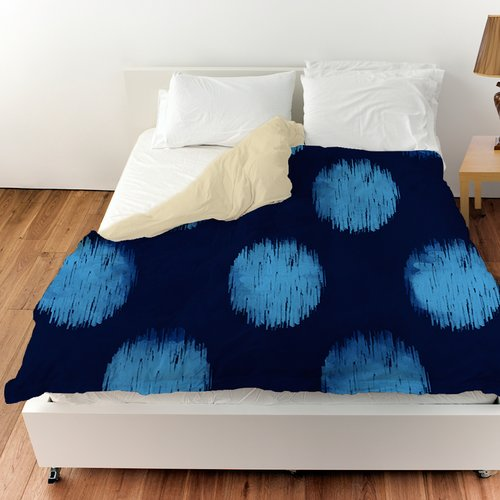 Manual Woodworkers & Weavers Big Dots Duvet Cover