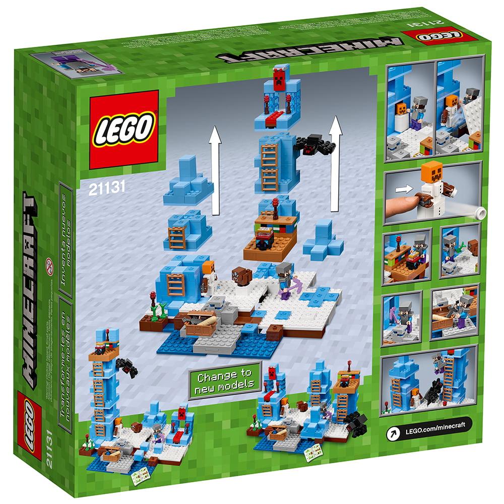 LEGO Minecraft The Ice Spikes 21131 - Walmart.com