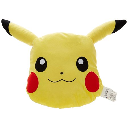 Pokemon Pikachu Character Head Pillow
