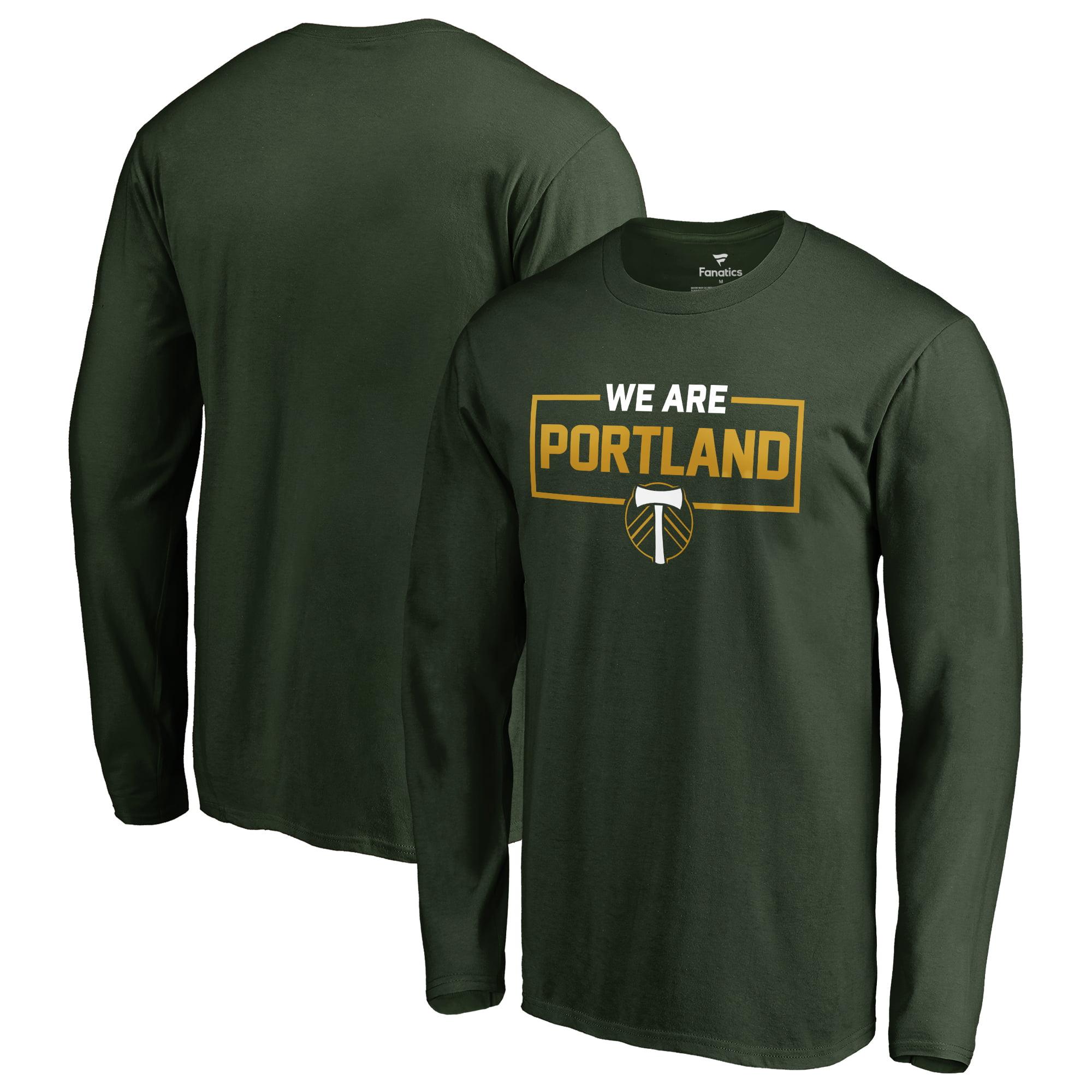 Portland Timbers Fanatics Branded We Are Long Sleeve T-Shirt - Green
