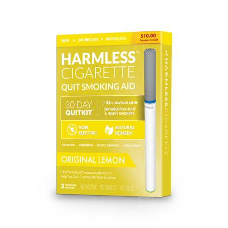 4 Week Quit Smoking Kit / Satisfying & Effective Stop Smoking Remedy / Includes FREE Quit Smoking Support Guide / Harmless