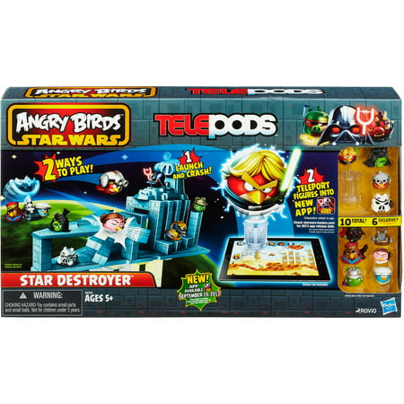 Angry birds star wars telepods star destroyer set - Angry birds star wars 7 ...