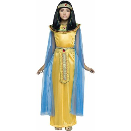 Golden Cleopatra Child Halloween Costume - Cleopatra Costume For Child