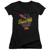 IZombie Supa Hot Juniors V-Neck Shirt